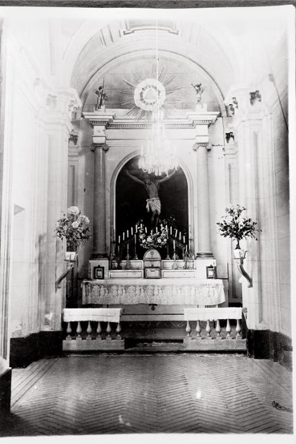 CAPILLA STMO. CRISTO DE LOS REMEDIOS 1890-1936