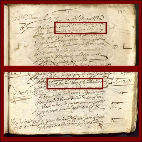 DOCUMENTO 13 FEBRERO 1645