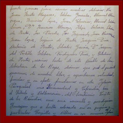 ESTATUTOS FUNDACIONALES HERMANDAD 1814