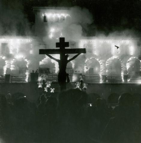 PROCESIÓN STMO. CRISTO DE LOS REMEDIOS 1958