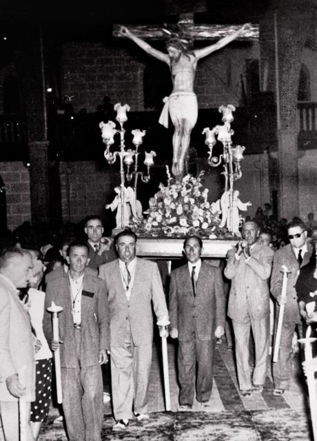 Procesión hacia 1945