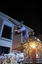JESÚS CON LA CRUZ A CUESTAS. PROCESIÓN EXTRAORDINARIA JUEVES SANTO 2015